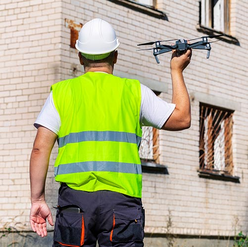 Top 3 Benefits of Using Drones for Building Inspections